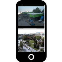 Application vidéosurveillance sur smartphone